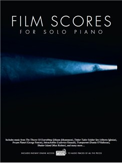 Film Scores For Solo Piano (Book/Audio Download) Books and Digital Audio | Piano