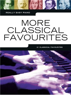 Really Easy Piano: More Classical Favourites Livre | Piano Facile