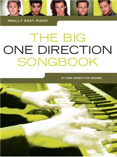 Really Easy Piano: The Big One Direction Songbook Books | Easy Piano