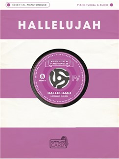 Essential Piano Singles: Leonard Cohen - Hallelujah (Single Sheet/Audio Download) Books and Digital Audio | Piano, Vocal & Guitar