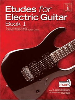 Kris Lennox: Etudes For Electric Guitar (Book/Audio Download) Books and Digital Audio | Electric Guitar