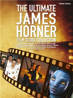 The Ultimate James Horner Film Score Collection Books | Piano, Voice