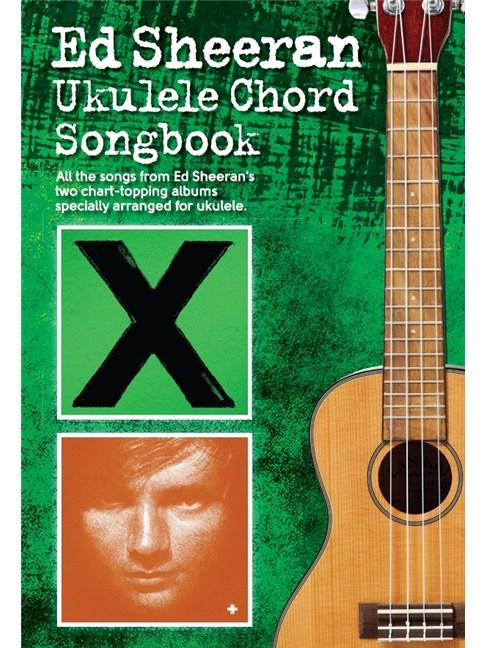 Ed Sheeran Ukulele Chord Songbook - Ukulele Sheet Music - Sheet ...