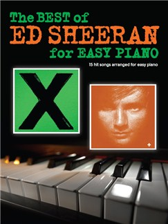 The Best Of Ed Sheeran For Easy Piano Livre | Piano Facile