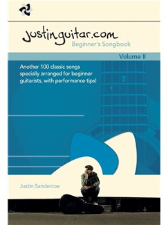 Justinguitar.com Beginner's Songbook Volume 2 Books | Guitar