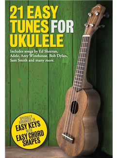 21 Easy Tunes For Ukulele Books | Ukulele