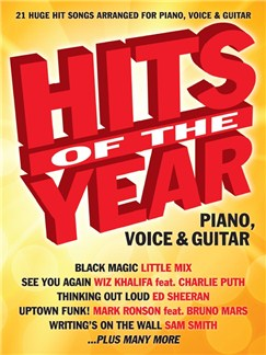 Hits Of The Year 2015 Books | Piano, Vocal & Guitar