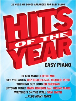 Hits Of The Year 2015 (Easy Piano) Books | Easy Piano
