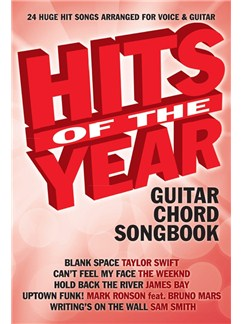 Hits Of The Year 2015 (Guitar) Livre | Guitare