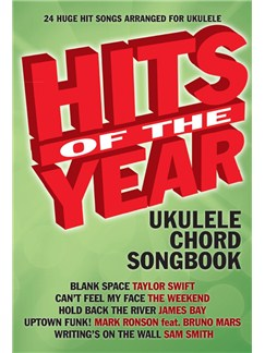 Hits Of The Year 2015 (Ukulele) Books | Ukulele