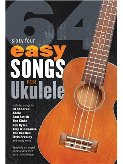 64 Easy Songs For Ukulele Books | Ukulele