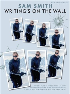 Sam Smith: Writing's On The Wall - From James Bond: Spectre (PVG) Books | Piano, Vocal & Guitar