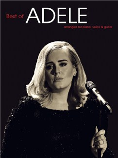 The Best Of Adele (PVG) Books | Piano, Vocal & Guitar