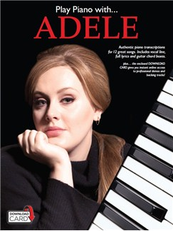 Play Piano With... Adele (Book/Audio Download) Books and Digital Audio | Piano, Vocal & Guitar