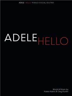 Adele: Hello (Piano, Vocal & Guitar) Books | Piano, Vocal & Guitar