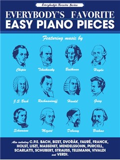 Everybody's Favorite Easy Piano Pieces Books | Piano
