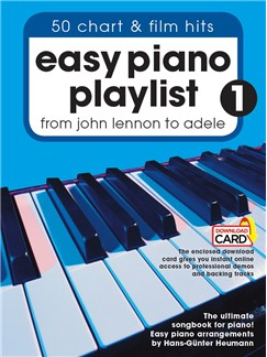 Easy Piano Playlist: Volume 1 (Book/Audio Download) Books and Digital Audio | Piano
