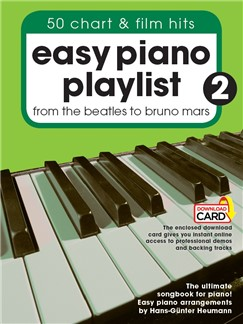Easy Piano Playlist: Volume 2 (Book/Audio Download) Books and Digital Audio | Piano