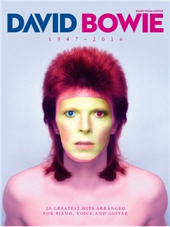 David Bowie 1947 - 2016 Livre | Piano, Chant et Guitare