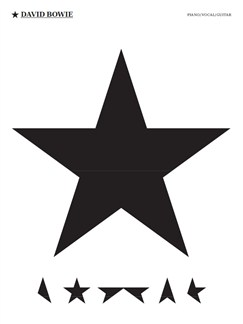 David Bowie: Blackstar Books | Piano, Vocal & Guitar