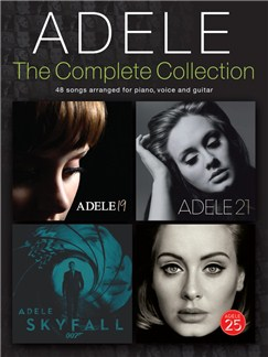 Adele: The Complete Collection Livre | Piano, Chant et Guitare