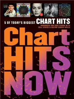 Chart Hits Now - Volume 1 Books | Easy Piano/Lyrics & Chords
