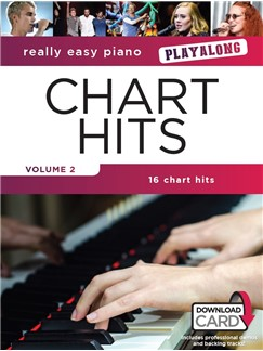Really Easy Piano Playalong: Chart Hits Volume 2 (Book/Audio Download) Audio Digitale et Livre | Piano