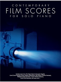 Contemporary Film Scores For Solo Piano Books | Piano