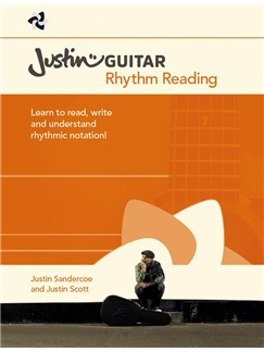 Justinguitar.com Rhythm Reading For Guitarists Books | Guitar