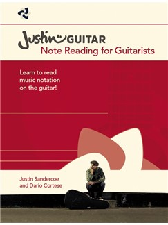 Justinguitar.com Note Reading For Guitarists Books | Guitar