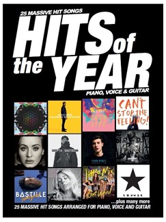 Hits Of The Year 2016: PVG Books | Piano, Vocal & Guitar