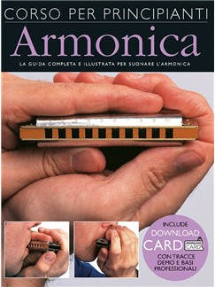 Corso Per Principianti Di Armonica (Libro/Download Card) Books and Digital Audio | Harmonica