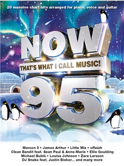 Now That's What I Call Music 95 Books | Piano, Vocal & Guitar