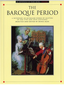 Anthology Of Piano Music Volume 1: The Baroque Period Books | Piano