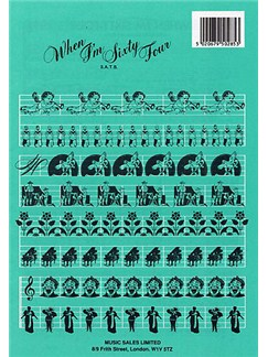 The Beatles: When I'm Sixty-Four (SATB) Books | SATB, Piano Accompaniment