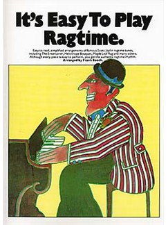 It's Easy To Play Ragtime Books | Piano & Guitar, with guitar chord boxes