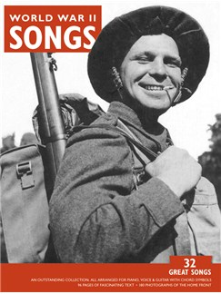 World War II Songs Books | Piano and Voice, with Guitar chord symbols