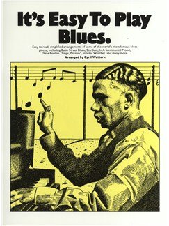 It's Easy To Play Blues Books | Piano and Voice, with Guitar chord symbols