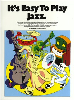 It's Easy To Play Jazz Books | Piano, Vocal & Guitar (with Chord Symbols)