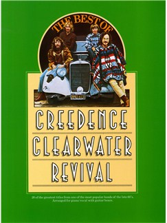 The Best Of Creedence Clearwater Revival Books | Piano and Voice, with Guitar chord boxes