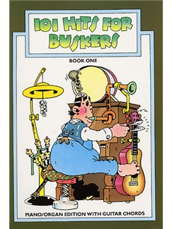 101 Hits For Buskers - Book 1 Books | Melody line & lyrics, with chord symbols