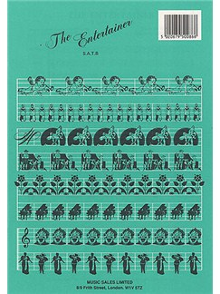 Scott Joplin: Entertainer- Ragtime Novelty (SATB/Piano) Bog | SATB, Klaverakkompagnement