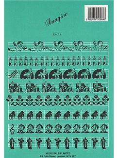 John Lennon: Imagine (SATB) Books | Soprano, Alto, Tenor, Bass, Piano