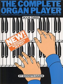 The Complete Organ Player: Book 3 Books | Organ, with chord symbols