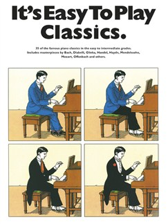 It's Easy To Play Classics Books | Piano & Guitar, with chord symbols