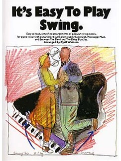 It's Easy To Play Swing Books | Piano and Voice, with Guitar chord symbols