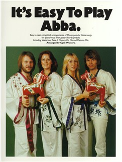 It's Easy To Play Abba Books | Piano and Voice, with Guitar chord symbols