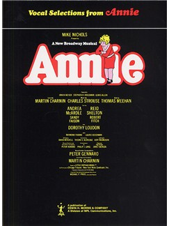 Charles Strouse: Annie - Vocal Selections Books | Piano and Voice, with Guitar chord boxes