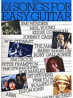 101 Songs For Easy Guitar Book 2 Books | Melody Line, Lyrics & Chords (with Chord Boxes), Easy Guitar