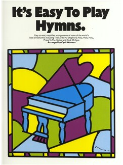 It's Easy To Play Hymns Books   Piano and Voice, with Guitar chord symbols